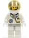 Minifig No: spp003  Name: Space Port - Astronaut C1, White Legs with Light Gray Hips