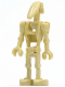 Minifig No: sw0001d  Name: Battle Droid with 2 Straight Arms