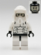 Minifig No: sw0005b  Name: Scout Trooper (Patterned Head, Dark Bluish Gray Torso Pattern)