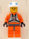 Minifig No: sw0012a  Name: Dak Ralter (with Dark Bluish Gray Hips)