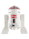Minifig No: sw0029  Name: Astromech Droid, R5-D4, Short Red Stripes on Dome