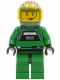 Minifig No: sw0031  Name: Rebel Pilot A-wing (Yellow Head, Trans-Yellow Visor)