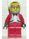 Minifig No: sw0032  Name: Rebel Pilot B-wing (Yellow Head, Light Gray Helmet, Trans-Yellow Visor)