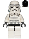 Minifig No: sw0036b  Name: Stormtrooper (Black Head)
