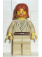 Minifig No: sw0055  Name: Obi-Wan Kenobi (Young with Dark Orange Hair and Headset)