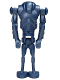 Minifig No: sw0056  Name: Super Battle Droid - Metal Blue