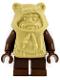 Minifig No: sw0067  Name: Ewok, Tan Hood (Paploo)