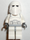 Minifig No: sw0080  Name: Snowtrooper, Light Bluish Gray Hips, Black Hands (Falcon blue box)