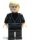 Minifig No: sw0083  Name: Luke Skywalker -  Light Nougat, Black Tunic