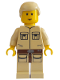 Minifig No: sw0103  Name: Luke Skywalker (Cloud City, Tan Shirt)