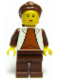 Minifig No: sw0104  Name: Princess Leia (Cloud City)
