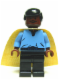 Minifig No: sw0105  Name: Lando Calrissian, Cloud City Outfit (Smooth Hair)
