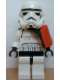 Minifig No: sw0109a  Name: Sandtrooper - Orange Pauldron (Solid), No Survival Backpack, No Dirt Stains, Helmet with Solid Mouth Pattern and Solid Black Head