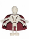 Minifig No: sw0134  Name: General Grievous - Straight Legs, Cape
