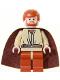 Minifig No: sw0135  Name: Obi-Wan Kenobi, Dark Orange Legs