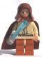 Minifig No: sw0137  Name: Obi-Wan Kenobi with Light-Up Lightsaber