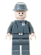Minifig No: sw0154  Name: Imperial Officer (Captain / Commandant / Commander) - Cavalry Kepi, Standard Grin