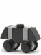 Minifig No: sw0156a  Name: Mouse Droid - Black / Light Bluish Gray
