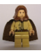 Minifig No: sw0173  Name: Obi-Wan Kenobi - Young, Light Nougat, Brown Hood and Cape, Tan Legs