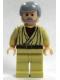 Minifig No: sw0174  Name: Obi-Wan Kenobi - Old, Light Nougat