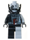 Minifig No: sw0180  Name: Darth Vader Battle Damaged