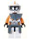 Minifig No: sw0196  Name: Commander Cody with Pauldron and Kama