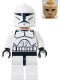 Minifig No: sw0201  Name: Clone Trooper Clone Wars
