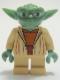 Minifig No: sw0219  Name: Yoda (Clone Wars, Gray Hair)