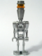 Minifig No: sw0229  Name: Assassin Droid (Silver)