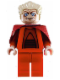 Minifig No: sw0243  Name: Chancellor Palpatine - Clone Wars Red Outfit