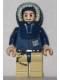 Minifig No: sw0253a  Name: Han Solo - Light Nougat, Parka Hood, Tan Legs with Holster (2010)