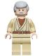 Minifig No: sw0274  Name: Obi-Wan Kenobi - Old, Light Nougat, White Glints