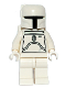 Minifig No: sw0275  Name: Boba Fett - White