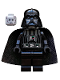 Minifig No: sw0277  Name: Darth Vader (White Pupils)
