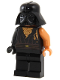 Minifig No: sw0283  Name: Anakin Skywalker, Battle Damaged with Darth Vader Helmet