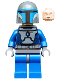 Minifig No: sw0296  Name: Mandalorian Death Watch Warrior