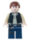 Minifig No: sw0334  Name: Han Solo, Black Vest, Dark Blue Legs, Eyes with Pupils