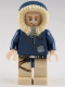 Minifig No: sw0343  Name: Han Solo, Tan Legs with Holster Pattern, Parka Hood with Tan Fur