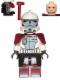 Minifig No: sw0377  Name: ARC Trooper with Backpack - Elite Clone Trooper