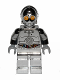 Minifig No: sw0385  Name: TC-14 Protocol Droid - Chrome Silver with Blue, Red and White Wires Pattern