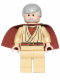 Minifig No: sw0388  Name: Obi-Wan Kenobi (Old) - Short Cape (Watch 9002939)
