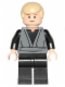 Minifig No: sw0395  Name: Luke Skywalker (Dark Bluish Gray Jedi Robe)