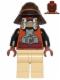 Minifig No: sw0398  Name: Lando Calrissian - Skiff Guard, Tan Hips