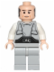 Minifig No: sw0400  Name: Lobot - Light Nougat, Black Eyebrows