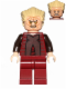 Minifig No: sw0418  Name: Chancellor Palpatine - Episode 3 Dark Red Outfit