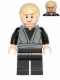 Minifig No: sw0433  Name: Luke Skywalker (Dark Bluish Gray Jedi Robe, Dual Sided Head)