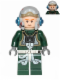 Minifig No: sw0437  Name: Rebel Pilot A-wing (Open Helmet, Dark Green Jumpsuit)