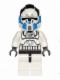 Minifig No: sw0439  Name: 501st Clone Pilot