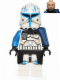 Minifig No: sw0450  Name: Captain Rex (Pauldron Cloth)