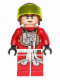 Minifig No: sw0455  Name: Rebel Pilot B-wing (Reddish Brown Helmet)